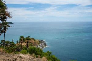 Mirador del cabo Promthep, Phuket, Tailandia foto