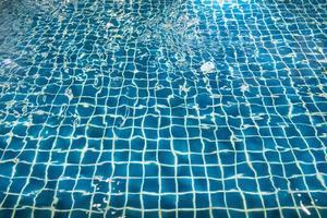 Blue pool background photo