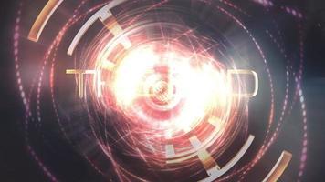 la fin des images de science-fiction cinématiques futuristes video