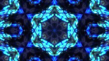Futuristic Visualization Kaleidoscope video