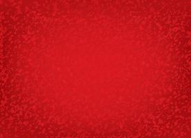Abstract spot red dotted brushed festive pattern. Ripple dot splash textured background vector