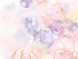 Abstract alcohol ink texture marble style background. vector