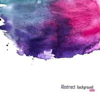 Abstract Paint Hand Drawn Watercolor Background Vector Illustration