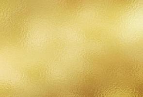 Shiny gold texture paper foil vector