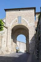 New entrance door to the town of Assisi photo