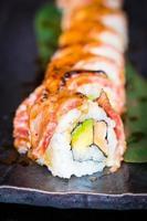 sushi de ternera matsusaka y wagyu foto