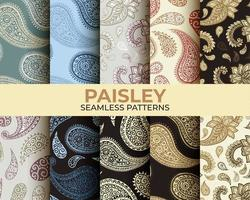 Paisley Pattern Collection vector