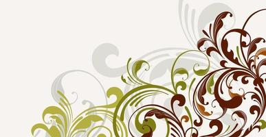 Luxurious floral batik background. Floral decoration curls illustration. Hand drawn paisley pattern elements. Vintage ornament, pattern. vector