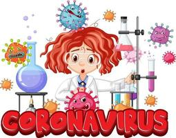 Researcher experiment for covid-19 vaccine vector