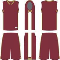 Layup Basketball Uniforms vector