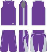 Three Pointer Basketball Uniforms vector