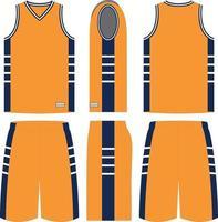 Zone Basketball Uniforms vector