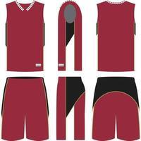 Rebound Basketball Uniforms vector