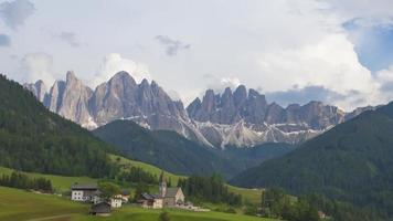 A Majestic Mountain Landscape in The Dolomites video