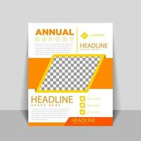 Cover designs for annual reports and business catalogs vector