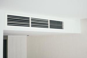 Air condition decoration interior photo