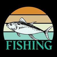 Vector Fishing t shirt