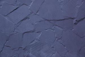 pared azul rugosa foto