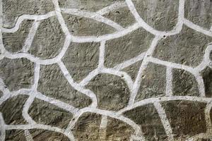 pared decorada con piedra foto