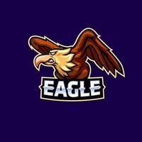 Eagle mascot logo icon design vector concept