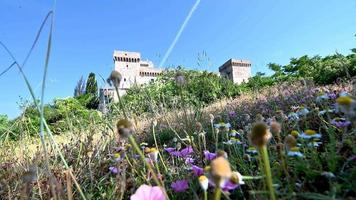 rocca di narni medieval building characteristic of the place video