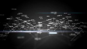 tecnologia animazione business globale internet marketing dati concetto aziendale hd 3d video