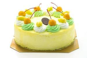 Ice cream mango cake photo