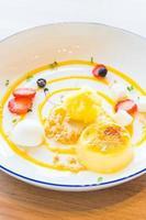 Mango passion fruit tart photo