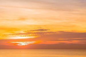 Sunrise and Sea photo