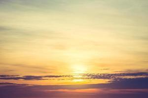 Sunrise and sky photo