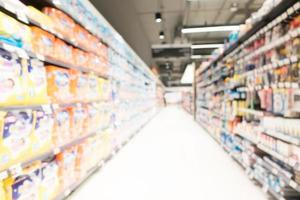 supermercado borroso abstracto foto