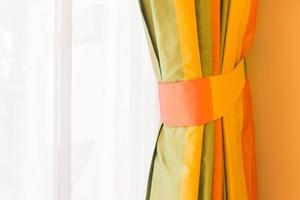 Curtain window decoration photo