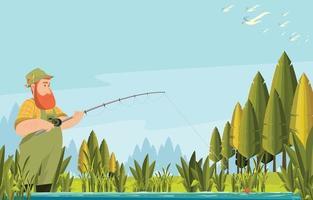 Summer Activity Background Concept vector