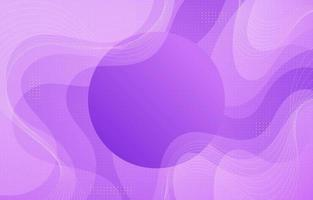 Purple Abstract Wave with Circle vector