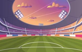Fancy Soccer Stadium vector