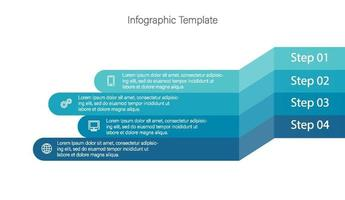 isometric 3d corporate timeline infograph elements vector