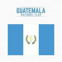 bandera nacional de guatemala vector