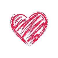 Heart vector icon for graphic design