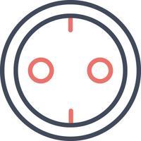 Power Socket Icon vector