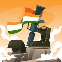 Kargil Vijay Celebration Day vector