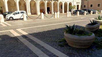 cathedral of the church of terni in the historic part of the city video