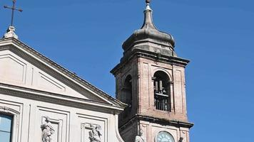 terni the particular cathedral of the sculptures placed on the facade video
