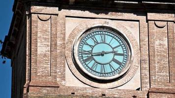 terni the particular cathedral of the clock on the bell tower video