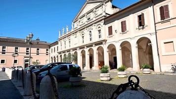 catedral de la iglesia de terni en el casco histórico de la ciudad video