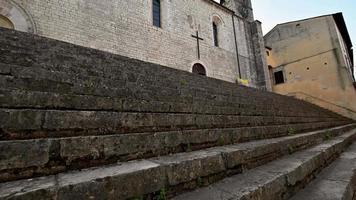 church of san francesco a piediluco in the town center video
