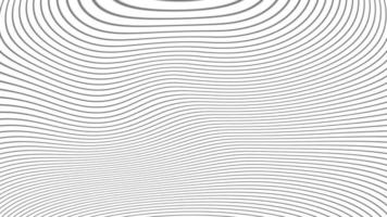 Clean white background with beautiful modern twisted lines video