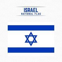 bandera nacional de israel vector