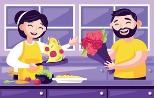 Wife Appreciation Day Concept vector