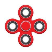 Spinner. New popular anti-stress toy. Vector Illustration.