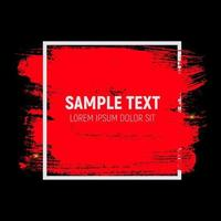 Abstract Brush Stroke Designs Texture with Frame. Can be used fo vector